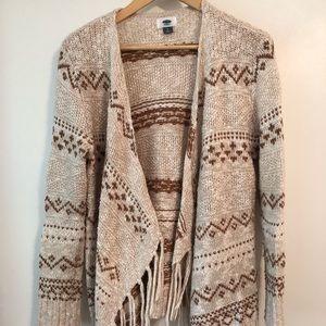 "Old Navy ""Aztec"" Sweater"